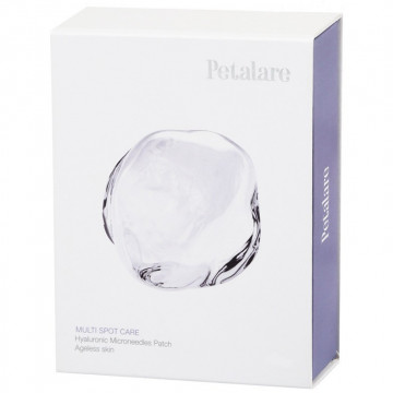 Купить - Petalare Multy Spot Care Hyaluronic Microneedles Patch - Нано-патч с микроиглами для лица