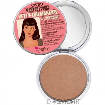 Купить - TheBalm Manizers Betty-Lou Manizer - Бронзер/Хайлайтер для лица