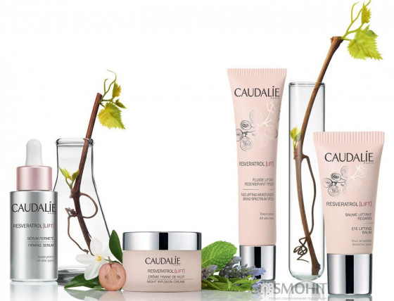 Caudalie Resveratrol Lift Night Infusion Cream - Ночной моделирующий крем - 2