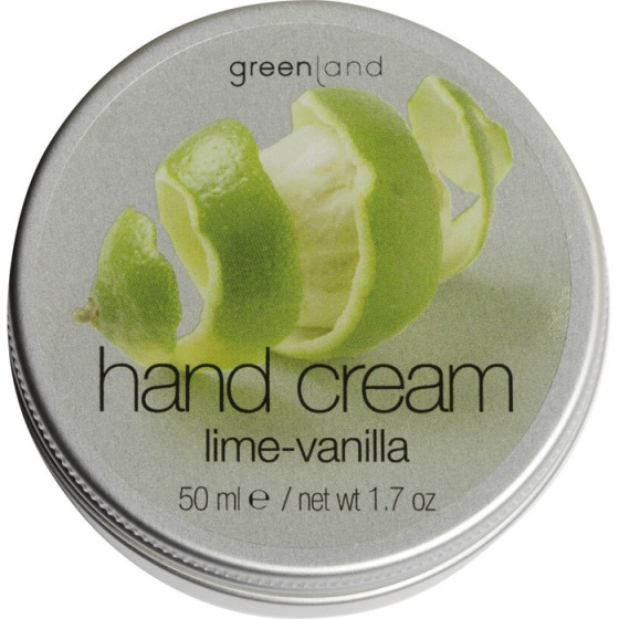 Greenland Fruit Emotions Hand Cream Lime & Vanilla - Крем для рук Лайм-Ваниль
