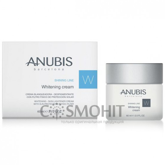 Anubis Shining Line Whitening Cream (sun block) - Осветляющий крем