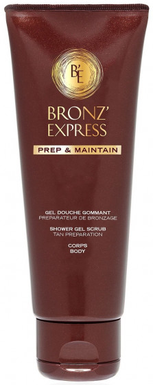 Academie Bronze Express Shower Gel Scrub - Гель-скраб для душа