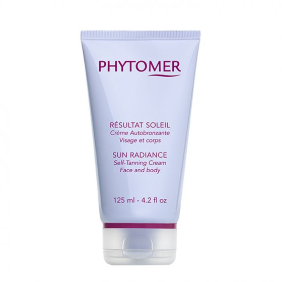 Phytomer Sun Radiance Self-Tanning Cream Face and Body - Крем-автозагар