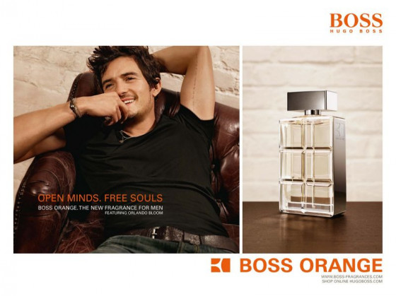 Hugo Boss Boss Orange Man - Подарочный набор (EDT60+BALM50+S/G50) - 1