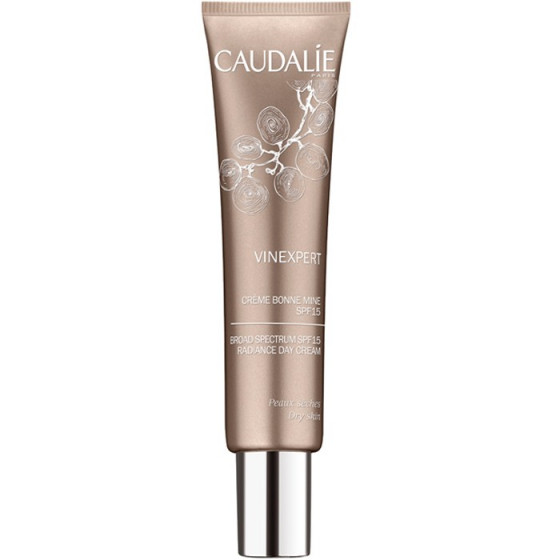 Caudalie Vinexpert Broad Spectrum SPF15 Radiance Day Cream - Увлажняющий крем-сияние дневной SPF 15