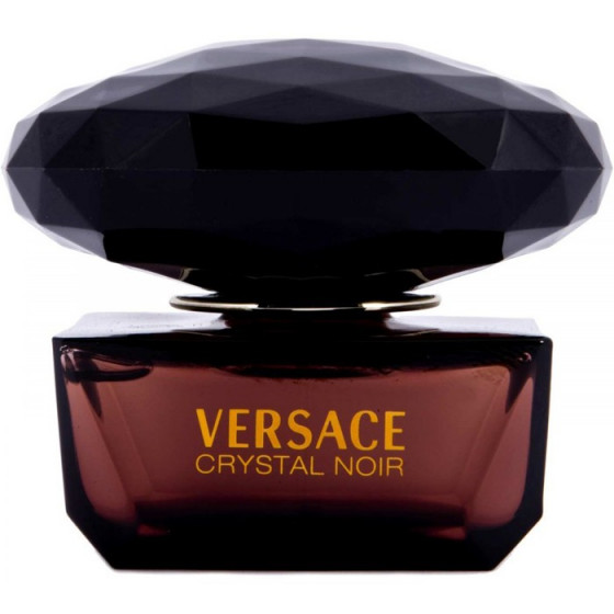 Versace Crystal Noir - Набор (EDT90+B/L100+косметичка) - 1