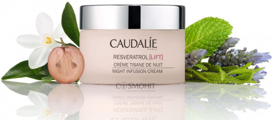 Caudalie Resveratrol Lift Night Infusion Cream - Ночной моделирующий крем - 1