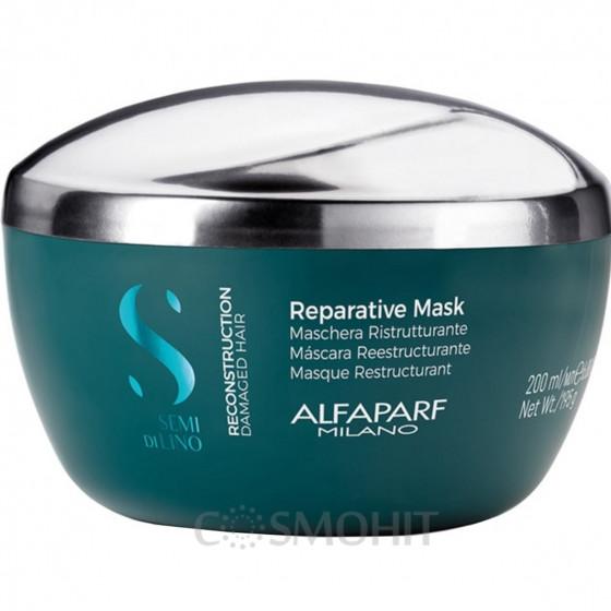 Alfaparf Semi Di Lino Reconstruction Reparative Mask - Маска Восстановление купить, Киев, Украина, цена, отзывы | Интернет магазин COSMOHIT