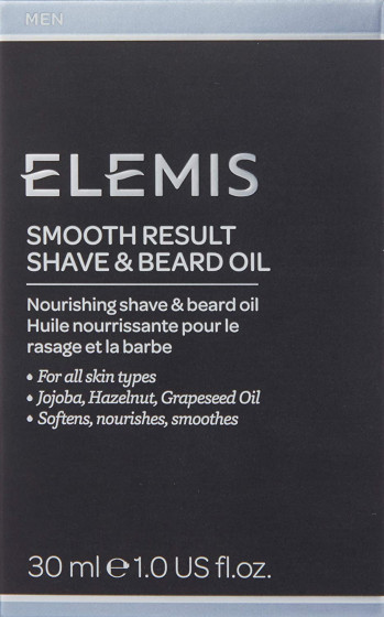 Elemis Men Smooth Result Shave & Beard Oil - Масло для бритья - 3