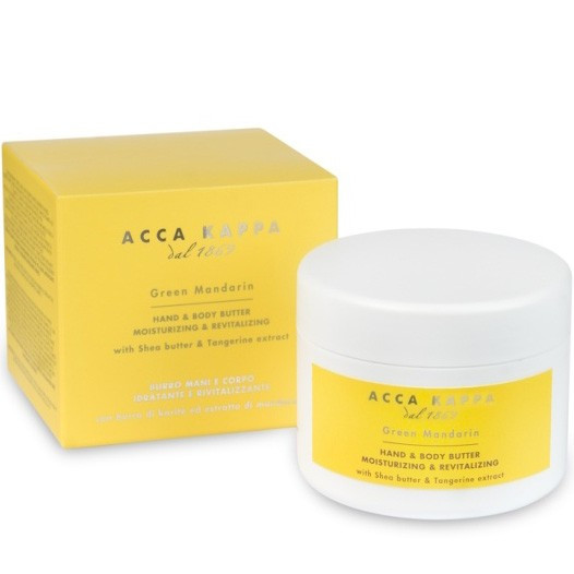 Acca Kappa Green Mandarin Body And Hand Butter - Крем для тела и рук