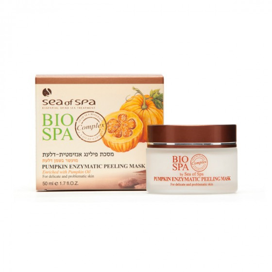 Sea of SPA Bio Spa Pumpkin Enzymatic Peeling Mask - Энзимная маска-пилинг с тыквенным маслом