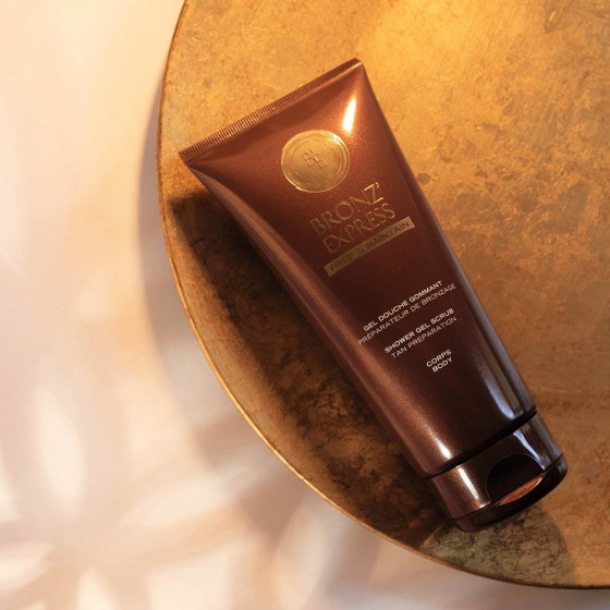 Academie Bronze Express Shower Gel Scrub - Гель-скраб для душа - 1