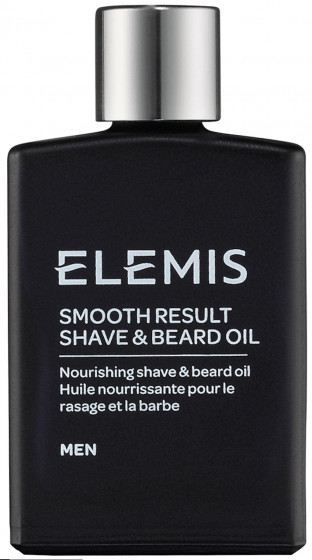 Elemis Men Smooth Result Shave & Beard Oil - Масло для бритья