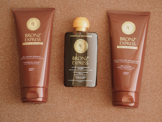 Academie Bronze Express Shower Gel Scrub - Гель-скраб для душа - 2