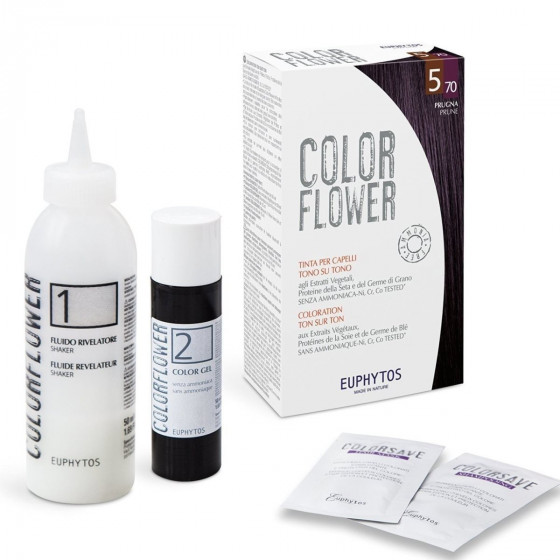 Euphytos Colorflower - Краска для волос №6/4 Dark copper blond