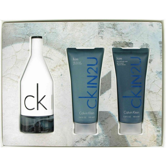 Calvin Klein CK Free For Men - Набор (EDT100+A/SH100+S/G100)