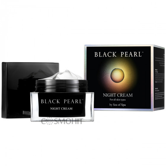 Sea of SPA Black Pearl Age Control Night Cream For All Skin Types 50 мл - Ночной крем для лица против морщин