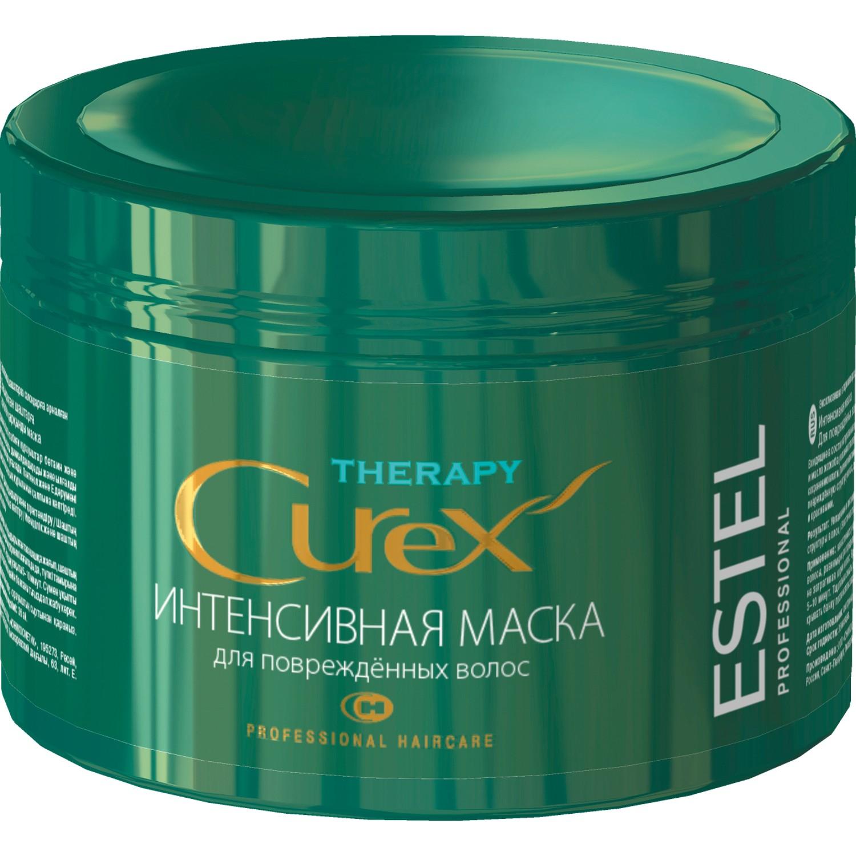 Интенсивная маска для поврежденных волос curex therapy