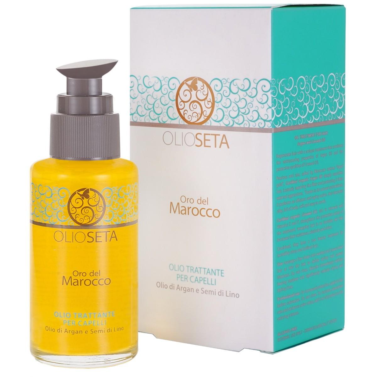 Olioseta oro del marocco для волос отзывы