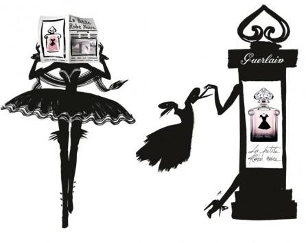 Герлен чёрное платье новинка