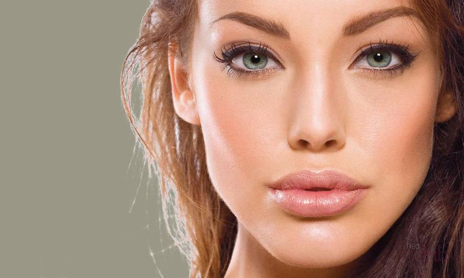 Коррекция формы носа средствами макияжа | 570x950